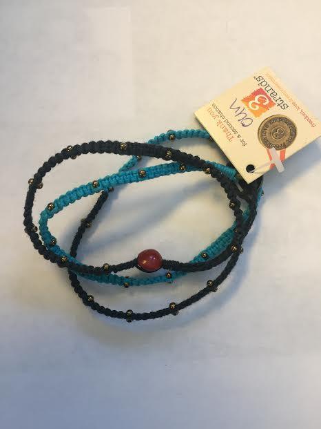3 Strands Beaded Bracelet