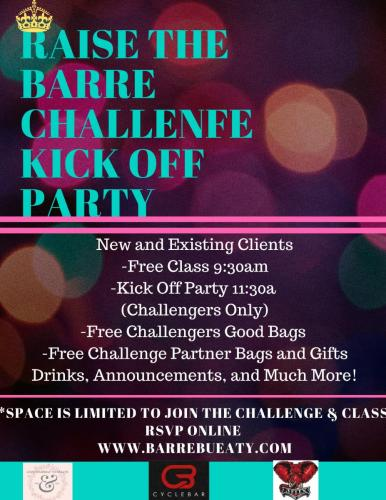 Raise THe Barre Party  (1)